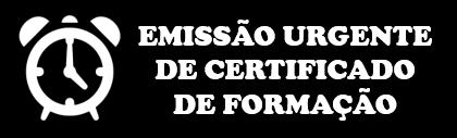 Emissão Urgente de Certificado de Formação
